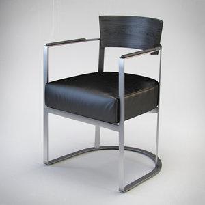 3d flexform morgan armchair model