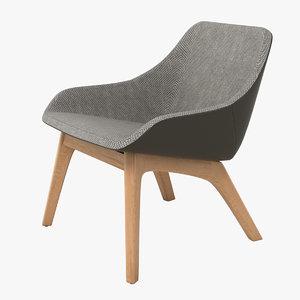 3d zeitraum morph lounge chair