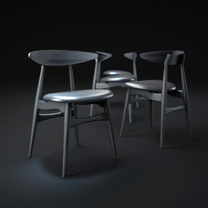 3d ch33-dining-chair