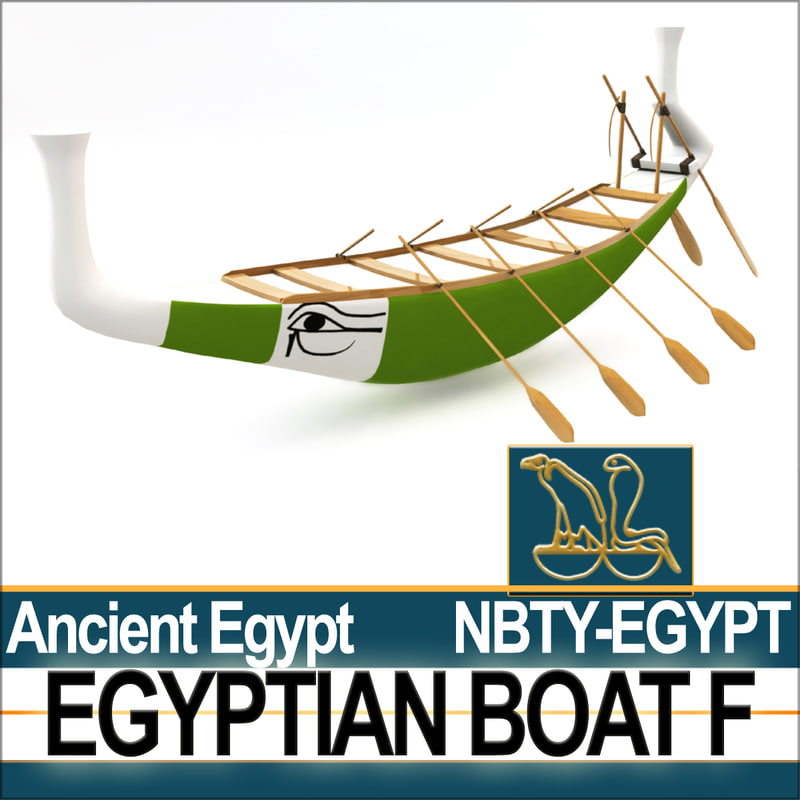 3ds ancient egypt boat f