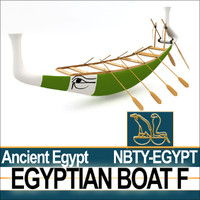 Ancient Egypt Boat F