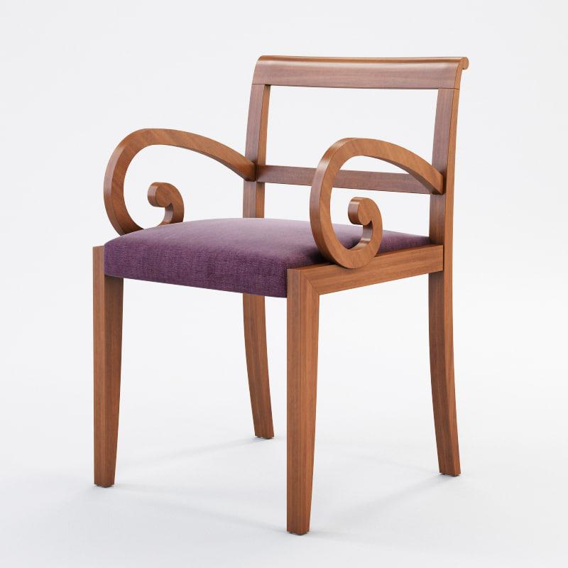 fbx porada garbo chair