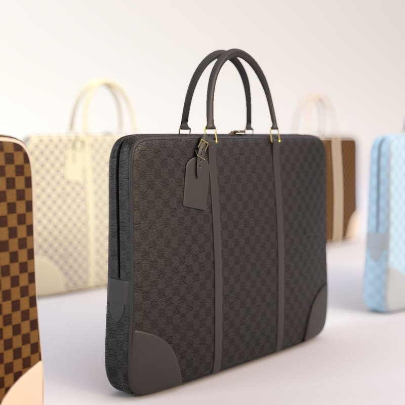 louis vuitton bag 2015 3d max