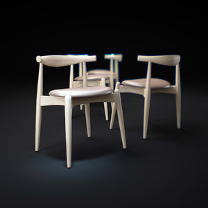 3d ch20---elbow-chair model
