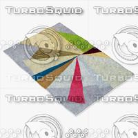 3d roche bobois rug eclat