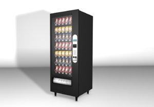 machine vending 3d model