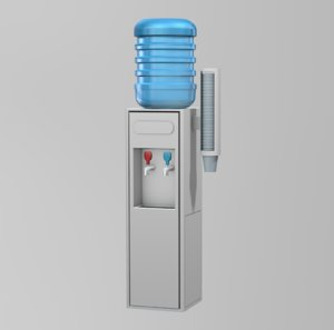 c4d water cooler