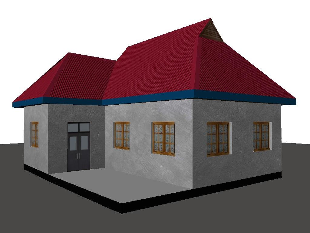 old house obj free