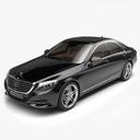 sedan 3D models