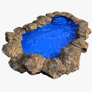 3ds max lagoon pool