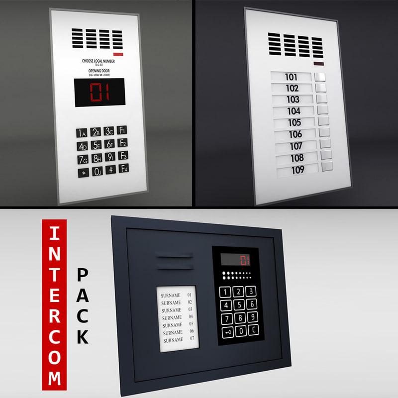 3ds pack intercoms