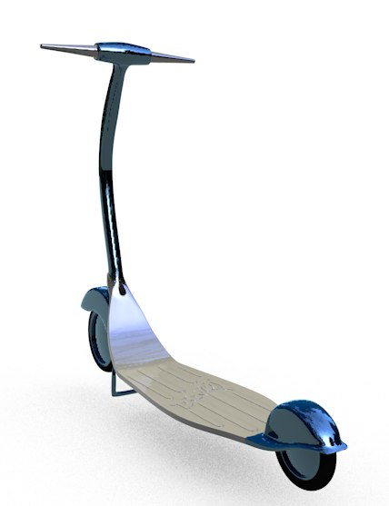 scooter toy kids 3d model