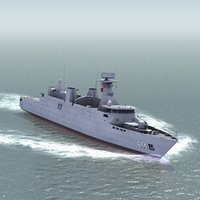 sultan moulay ismail corvette 3d 3ds