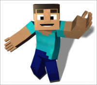 Minecraft Humanoid - Rigged
