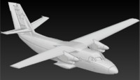 3d bas-relief model