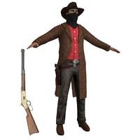3ds max cowboy 3