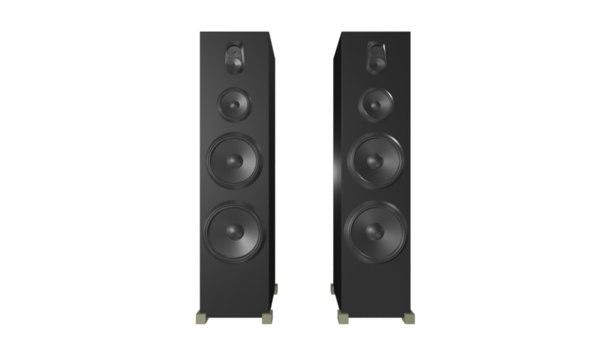 speaker loud 3d obj