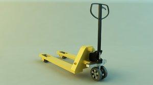 3d model trans pallet