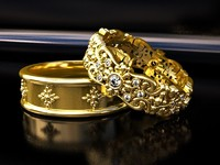 3ds wedding rings