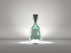 cute glass jar vessel lwo