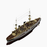 3d armored cruiser prinz heinrich