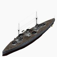 Battlecruiser Moltke Class Imperial German Nav