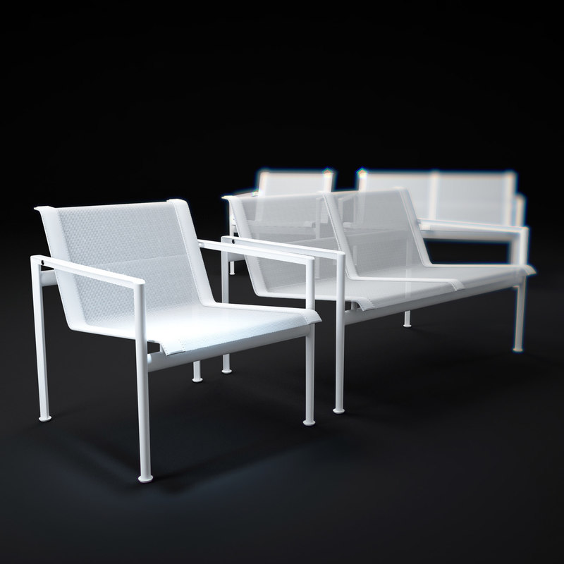 3d model of 1966-chair