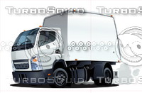 Cartoon truck 62