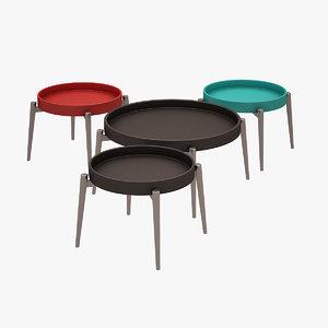 vera coffee table 3d max