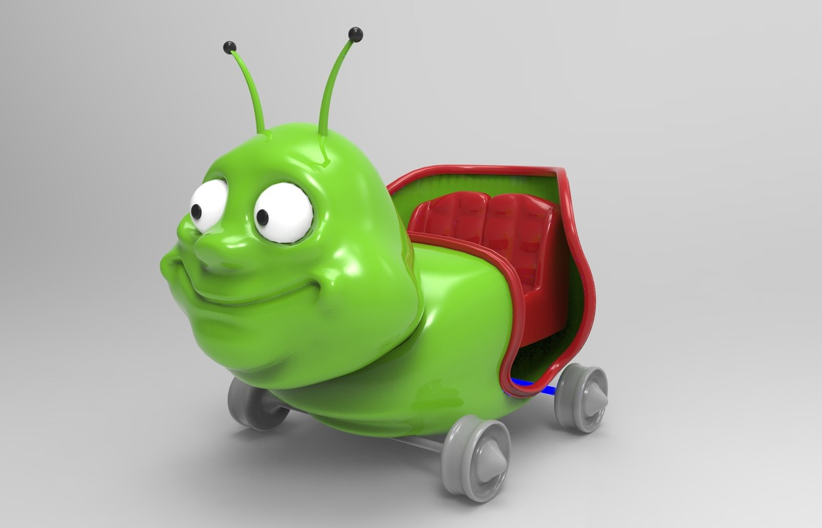 3dsmax car worm