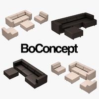 BoConcept Carmo Sofa Set