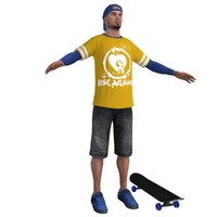 max skater skateboard ready