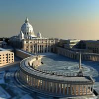 3d vatican city
