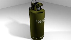 3d model smoke