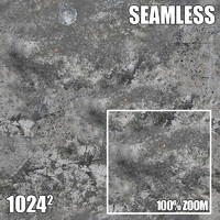Seamless Tileable Concrete X