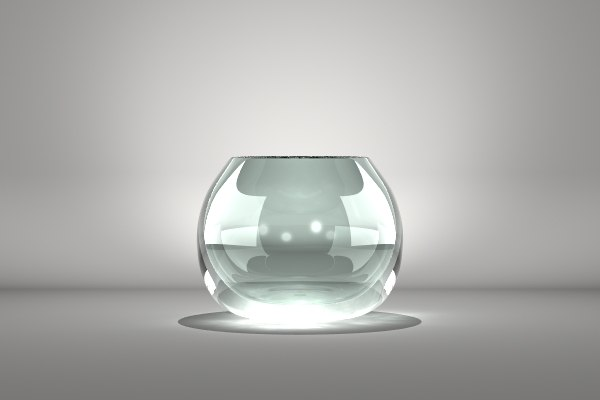 glass vase lwo