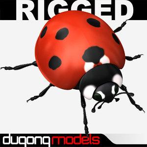 3d dugm05 ladybug