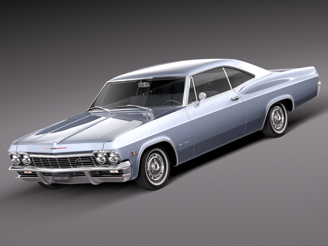 3d coupe hardtop chevrolet model