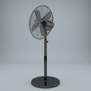 3d ventilator fan model