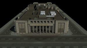 mint building madrid 3d model