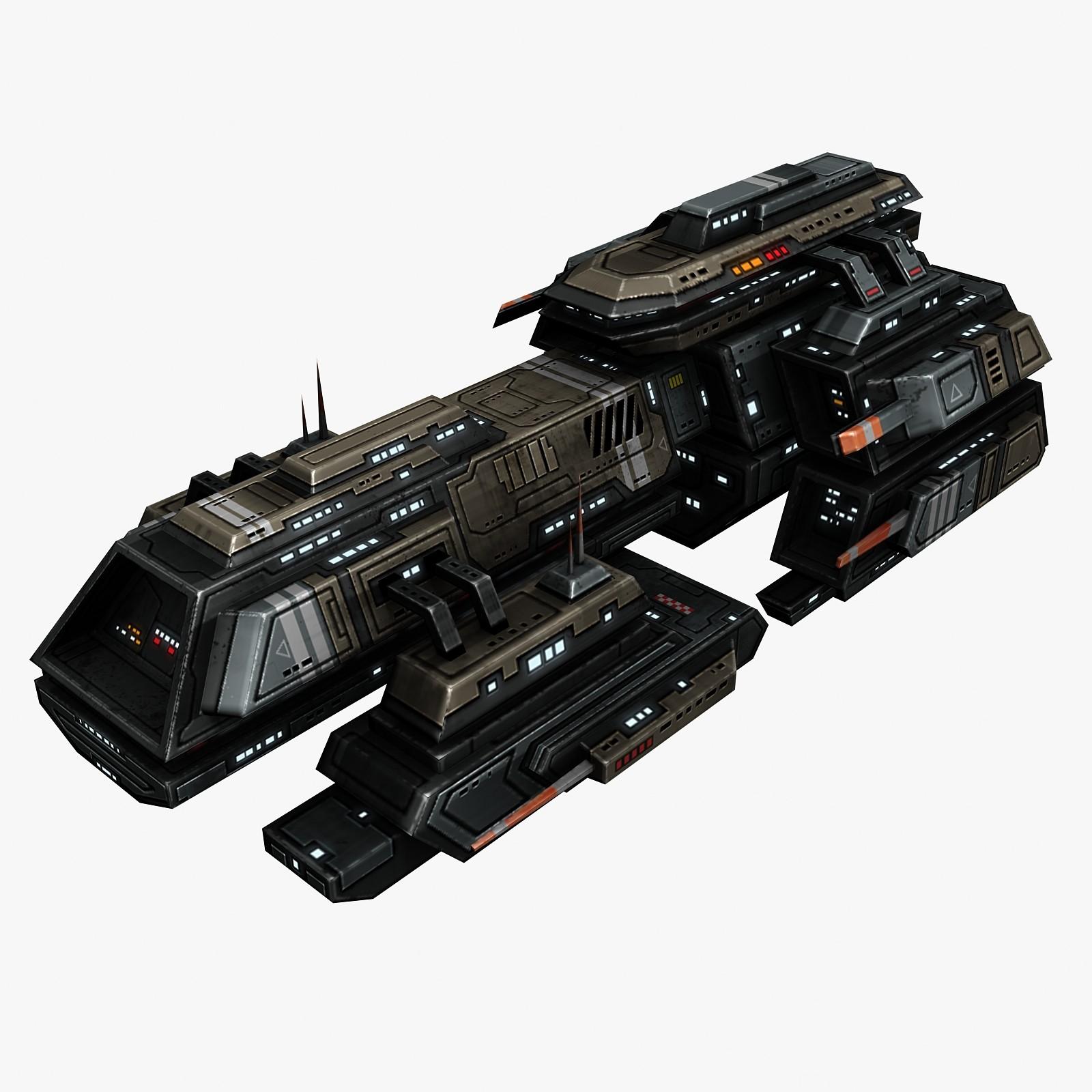 max spaceship frigate ship
