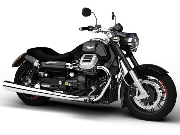 3d model of moto guzzi 1400 california