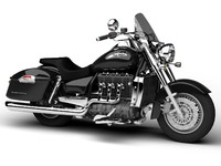 3d model triumph rocket iii touring