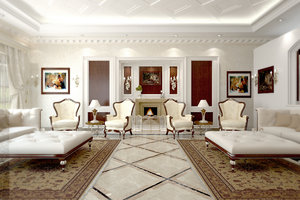 maya interior reception