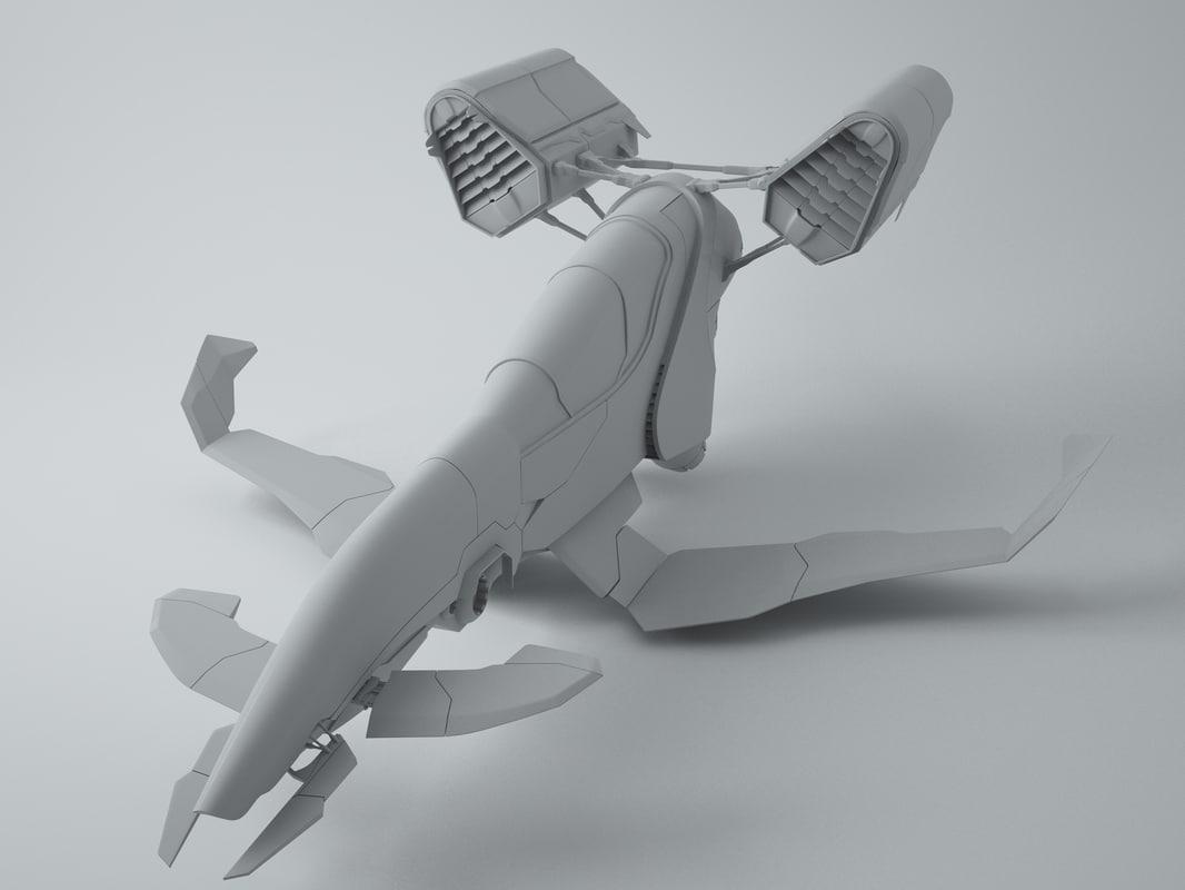 maya spaceship space
