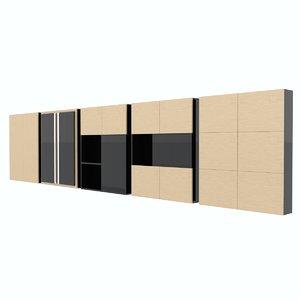 bath shelfs 3d c4d
