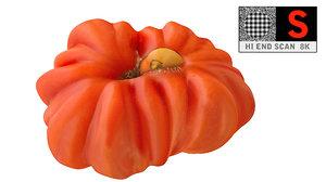3d tomato scanned 8k