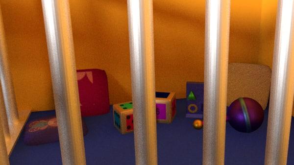 3d scene objects