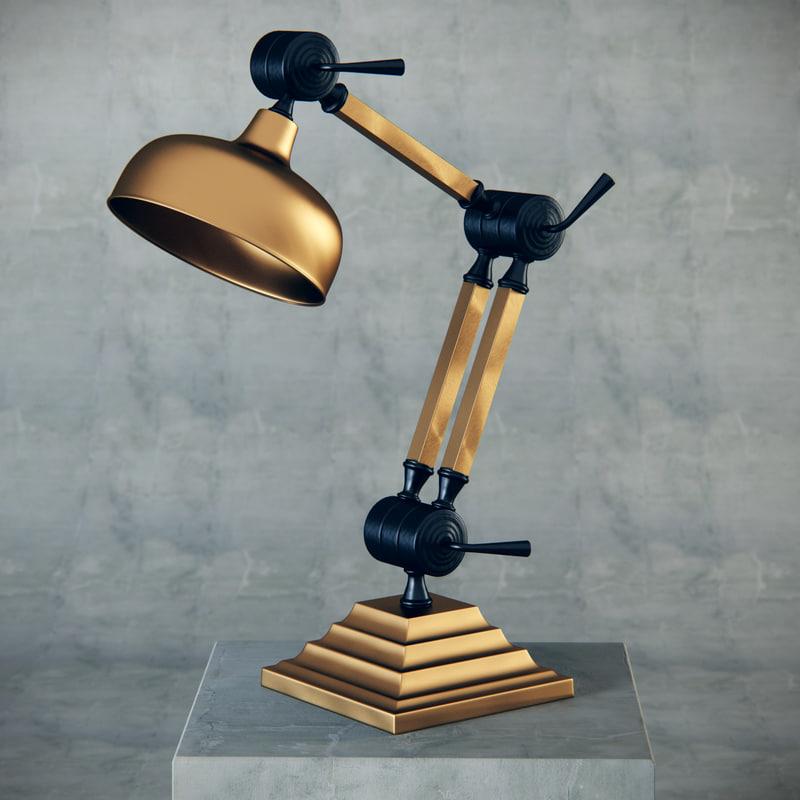 zaffero orin table 3d model