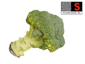 3d model broccoli 8k